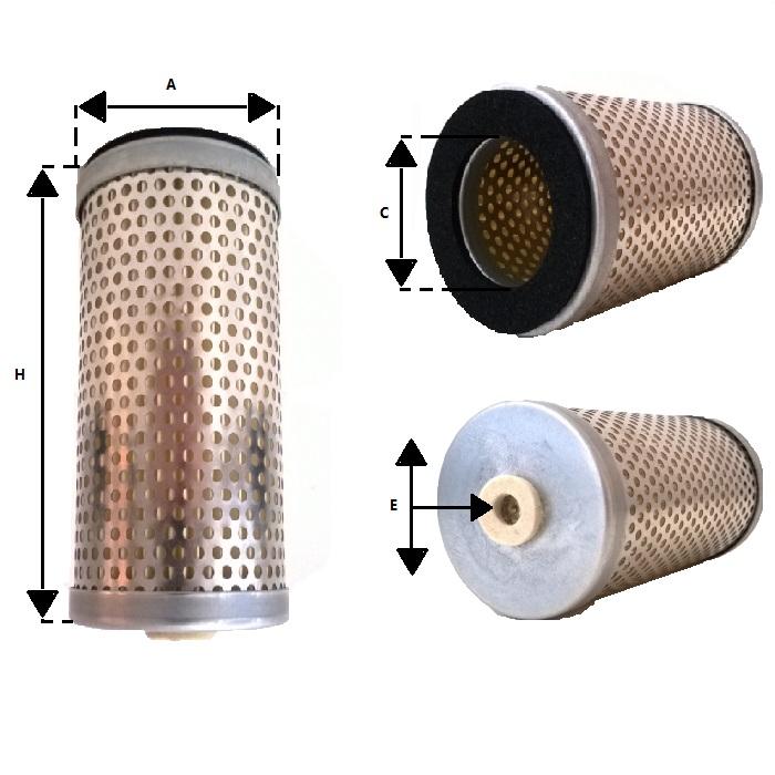 Af 2037 Air Filter Cartridge Oxfil Com