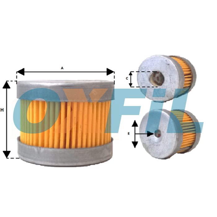 Af 2066 Air Filter Cartridge Oxfil Com